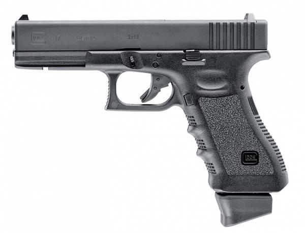 Glock 17 DELUXE - Blowback Softgun